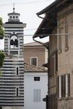 Formigine Modena, Itália: construções velhas imagens de stock royalty free