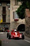 Formla 2 bil på Bergamo den historiska granda prixen 2015 Royaltyfria Foton