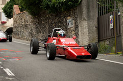 Formla 2 bil på Bergamo den historiska granda prixen 2015 Royaltyfri Bild