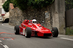 Formla 2 car at Bergamo Historic Grand Prix 2015 Royalty Free Stock Photos