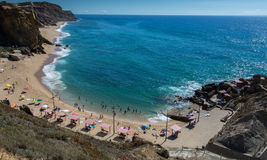 Formosa beach in Santa Cruz, Portugal. Stock Images