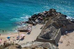 Formosa beach in Santa Cruz, Portugal. Royalty Free Stock Photos