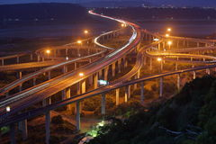 Formosa Highway at Taichung City in Taiwan Royalty Free Stock Photo