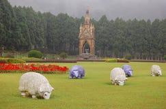 Formosan Tubylcza kultury wioska fotografia royalty free