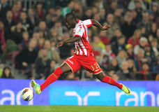 Formose Mendy of Sporting de Gijon Royalty Free Stock Photo