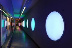 Forms and colours on a underpass at Bern Royalty Free Stock Photography