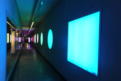 Forms and colours on a underpass at Bern Stock Photos