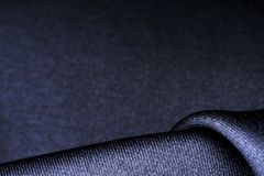 Forms of dark fabric texture. Wave forms of dark polyester fabric texture stock photos