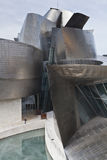 Forms of the Guggenheim Museum Bilbao Royalty Free Stock Photos
