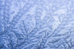 Forms and patterns made of ice royalty free stock images