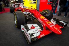 Formuła Jeden bieżny samochód Ferrari SF15-T, 2015 Obraz Stock
