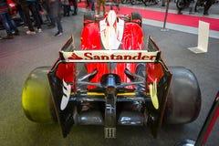 Formuła Jeden bieżny samochód Ferrari SF15-T, 2015 Obraz Royalty Free