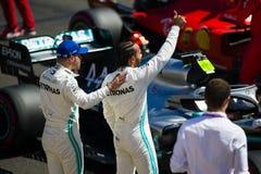 Formuła Jeden Francuski Grand Prix 2019 zdjęcie stock