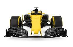 Formuła Jeden samochód wyścigowy Odizolowywający ilustracja wektor