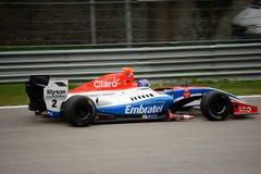 Formuła V8 3 5 samochód jadący Pietro Fittipaldi obrazy royalty free