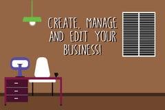 Formułuje pisać tekscie Tworzy Kieruje Twój biznes I Redaguje Biznesowy pojęcie dla projekta rozwija firmy analysisagement Work S ilustracji