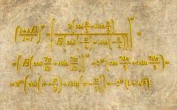 formuły matematyczne Obrazy Royalty Free