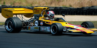 Formuły 500 samochód wyścigowy - Lola T330 Fotografia Royalty Free