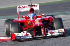 Formuła (1) - Fernando Alonso Zdjęcia Stock