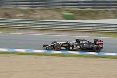 Formuła 1: Daniil Kwjat Zdjęcie Stock