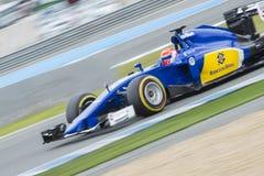 Formuła 1: Felipe Nasr Zdjęcie Royalty Free