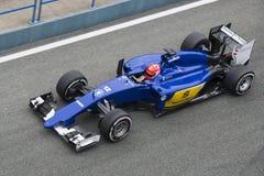 Formuła 1: Felipe Nasr Zdjęcie Stock