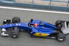Formuła 1: Felipe Nasr Obrazy Stock