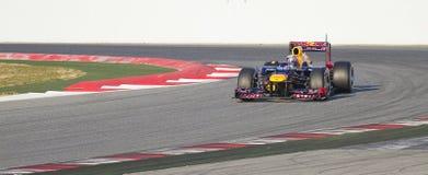 Formuła Jeden - Red Bull Zdjęcie Royalty Free