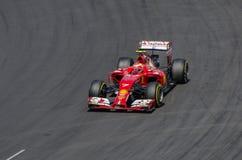 Formuła 1 - Kimi Raikkonen obrazy royalty free