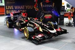 Formuła 1 samochodowy Lotus Obrazy Royalty Free