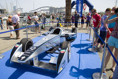 Formuły E iskra Renault SRT 01E Zdjęcie Stock