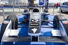 Formuły E iskra Renault SRT 01E Obraz Royalty Free