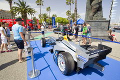 Formuły E iskra Renault SRT 01E Obraz Stock