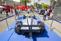 Formuły E iskra Renault SRT 01E Zdjęcia Royalty Free