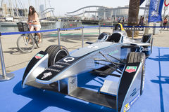 Formuły E iskra Renault SRT 01E Zdjęcia Stock