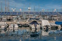 Formuły 1 Monaco Prix Uroczyste trybuny Zdjęcie Stock