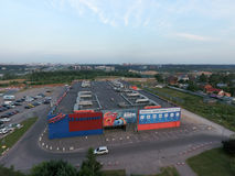 Formuła kina centrum w Moskwa Zdjęcia Royalty Free