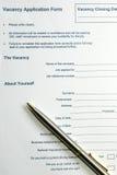Formulário Imagem de Stock Royalty Free