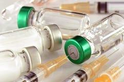 Formulário de dosagem farmacêutico da injeção fotografia de stock royalty free