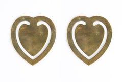 Formulário do coração Foto de Stock