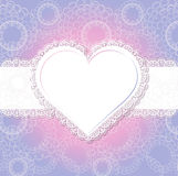 Formulário do coração do casamento Imagem de Stock Royalty Free