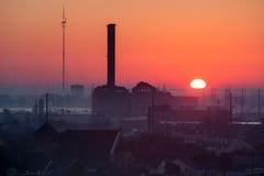 Nascer do sol de Nova Orleães Fotos de Stock Royalty Free