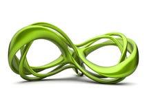 Formulário fluido verde ilustração do vetor