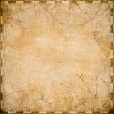 Formulário velho do quadrado do mapa dos piratas ilustração do vetor
