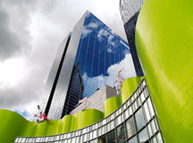 Formulários arquitectónicos modernos Imagens de Stock Royalty Free