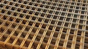 Formulários do concreto do metal fotografia de stock royalty free