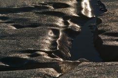 Formulários do gelo marinho fotografia de stock
