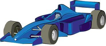 Formula 1. Illustration vector art cartoon royalty free illustration