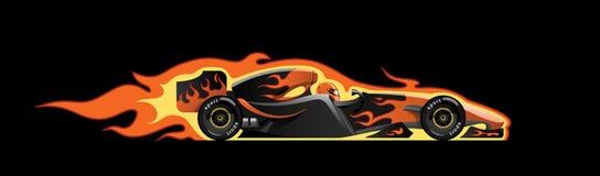 Formula 1. Vector illustration of  formula 1. racing car Royalty Free Stock Images