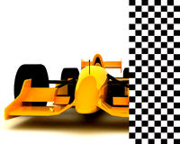 Formula 1 Car005 Fotografie Stock Libere da Diritti